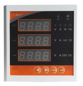 China Network Type Digital Electrical Multifunction Meter LCD Display Power Meter on sale