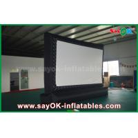 China Outdoor Giant  Inflatable Movie Screen Customized for Advertising / Amusement on sale