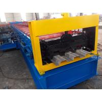 Fully Automatic Floor Decking Forming Machine / Metal Roll Forming Machine Manufactures