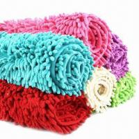 Quality Microfiber Chenille Car Cleaning Mitts, Measures 20x12x5cm for sale