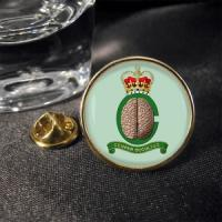 China 2012 fashion hand embroidered badge metal button pin on sale