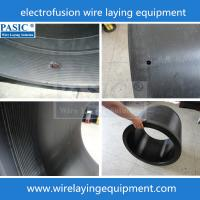 Elbow wire laying machine CNC PE electorfusion fittings wire laying machine PC-450/1000ZF Manufactures