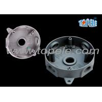 """Indoor Weatherproof Junction Box 4"""" Die Cast Outlet Round Electrical Box Manufactures"""