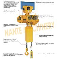 Compact  0.5 ton 2 Ton Electric Hoist  For Crane / Travelling Type / Fixed Type Manufactures