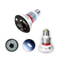 EAZZYDV Wireless  Mini Hidden Bulb Wifi Camera with White LED Light , Motion Dection, Night Vision, view by APP Manufactures