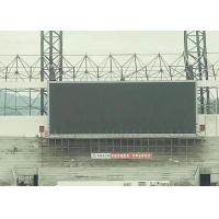 Front Maintained Video Outdoor Advertising Led Display Signs High Brightness Eco
