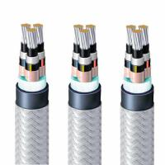 Flame Retardant Naval Marine Power Cable Polyolefin Elastomer Sheath 3x25mm2 Manufactures