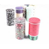 Glossy Lamination Round Metal Biscuit Tins For Wedding Anniversary Gift Packaging Manufactures