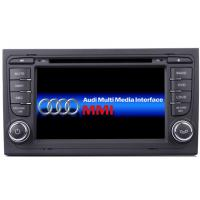 China 7 Inch Digital Audi Car DVD Player Bluetooth WIFI For AUDI A4 AUD-7102GD on sale