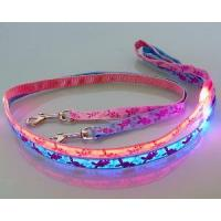 China EL Pet Collar LED Dog Leash on sale