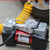 High Pressure Hand Small Air Compressor 3.75kgs With Double Cylinder 180w 12v Manufactures
