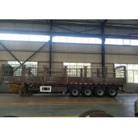 3 axles 13T fuwa brand china new heavy duty semi trailer with stake Manufactures