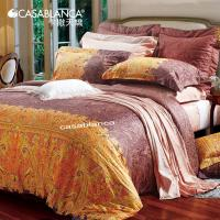King Size Combed Sateen Cotton Sateen Bedding Sets / Comforter Cover sets Manufactures