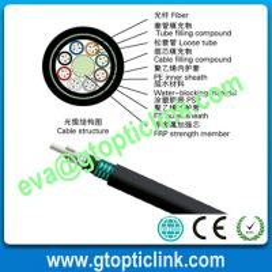 24 48 CORE GYFTA53 Direct buried optical fiber cable Manufactures