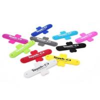 Quality Touch - U One - touch Silicone Phone Finger Ring Holder Stand Multi - color for sale