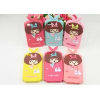 Xiaoxi Silicone Cell Phone Cases Cute Girl Mobile Phone Covers For iPhone4 / 4s / 5 / 5s Manufactures