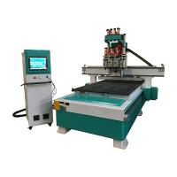 China Multi Spindle CNC Router Wood Carving Machine For Furniture Industry on sale