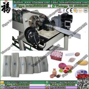 PE foaming fruit packaging net making machine polyethylene(LDPE) foam Net Extruder Manufactures