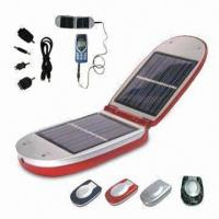 China Solar Mobile Phone Charger, Available with Different Adapters on sale