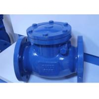 API Cast Steel Non Return Check Valve Safety Reliable Sealing High Strength Manufactures