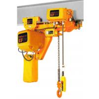 Lifting Height 6-8m Low Headroom 3 Ton Electric Chain Hoists EHK­-L Type Manufactures