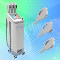 China Best IPL laser Beauty machine with 3 hand pieces for skin care hair removal on sale