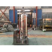 Liquid Glass Bottle Filling And Capping Machine for CO2 Carbonated Drink Manufactures