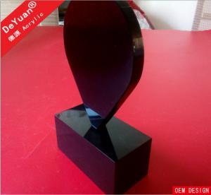 Lighting Acrylic Menu Holders / Organic Glass Brochure Display Stands Manufactures