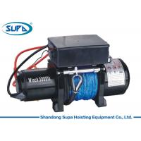 Labor Saving Electric Winch Hoist 12V Voltage 3 Stage Planetary Gear Train Manufactures