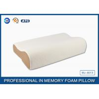High Density Slow Recovery Cervical Memory Foam Contour Pillow With Soft Cover