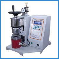 Fabric Leather Bursting Strength Tester , Semi Automatic Paper Testing