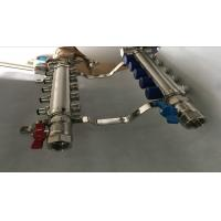 Italy Style Intelligent Temperture Control 2 Port Underfloor Heating Manifold For Pex Manufactures