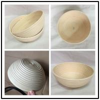 9inch Natural Rattan Cane Bread Banneton Proofing Basket Manufactures
