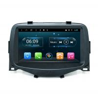China 8-INCH Toyota Aygo 2013-2018 Android Touch Screen Car Audio Radio GPS Navigator with CarPlay 4G SIM Mirror-Link on sale