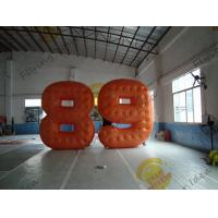 Cold Air Advertising Inflatable Product Replicas / Custom Made PVC Number Balloons Manufactures