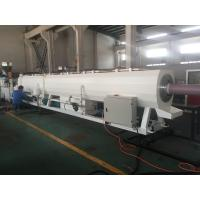 Plastic Pipe Extrusion Line For PVC Pressure Water Pipe 400Kg/H - 600Kg/H MAX Output Manufactures
