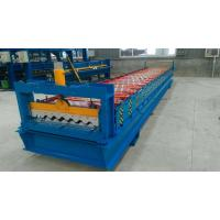 4.0kw Automatic Roll Forming Machines For 0.40 - 0.80 Mm Thickness Material Manufactures