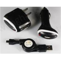 Car+AC Wall+ Mirco USB Data Cable Charger for Blackberry 8520 Tour 9630 Manufactures