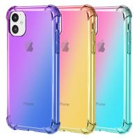 China iPhone 11 TPU Cover Rainbow Shockproof Case for Apple iPhone 11 2019 on sale