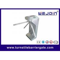 Automatic Entrance Access Control Turnstile Gate 304 Stainless Steel High Security Manufactures