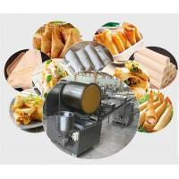 High quality Automatic spring rolls/Samsoa pastry sheet forming machine,low price egg wrapper making machine Manufactures