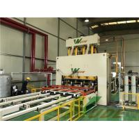 Industrial MDF PB Short Cycle Lamination Line , Short Cycle Press Machine Manufactures