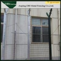 Weatherproof Steel Wire Welded Wire Fence For Residential Building / Sports Field Manufactures