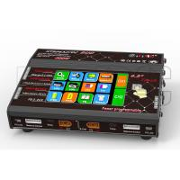 China 2x200W professional Touch Screen Lipo Charger two Channel Black Red on sale