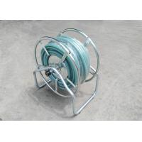 Galvanized Commercial Water Hose Reel Garden Wall / Floor Mount Multi Purpose Manufactures