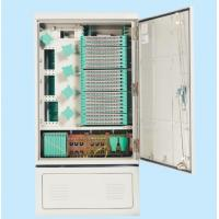 Quality 288 CORES Outdoor Fiber Cabinet Flame - Retardant Material IP65 Protection Grade For Network for sale