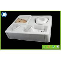 Quality ABS Vacuum Formed Plastic Cosmetic Trays With White / Sliver for sale