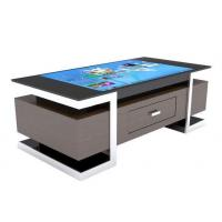 China All In One Multimedia Touch Screen Computer Table For Restaurant / Coffee Shop on sale