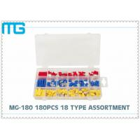 65pcs splice type Insulated heart shrink Terminal Assortment Kit Connector , Electrical Crimp Connector Kit Manufactures