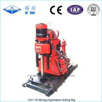Buy cheap GXY-1D Core Drilling Rig with Hydraulic Chuck from wholesalers